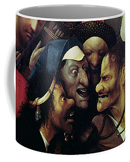 The Carrying Of The Cross, Oil On Panel Detail See Also 28966, 61299 And 61229 Coffee Mug
