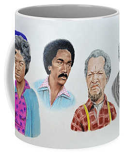 The Cast Of Sanford And Son  Coffee Mug