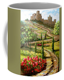 The Castle At Ansouis Coffee Mug
