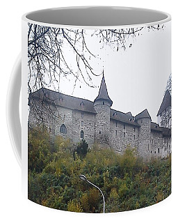 Coffee Mug featuring the photograph The Castle In Autumn by Felicia Tica