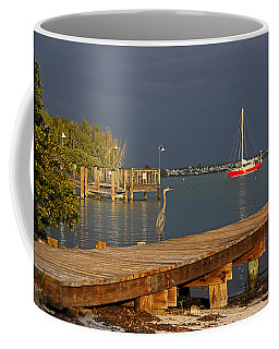 Coffee Mug featuring the photograph The Casual Observer by HH Photography of Florida
