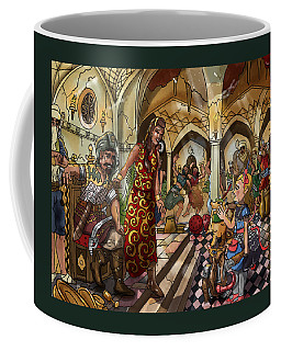 The Cave Of Ali Baba Coffee Mug by Reynold Jay