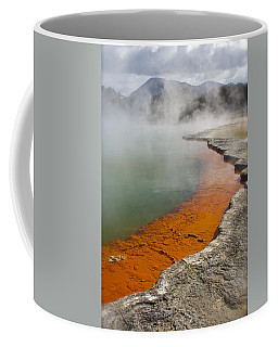 The Champagne Pool At Wai O Tapu Coffee Mug