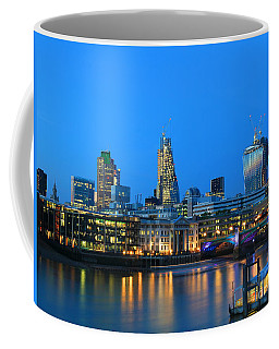 The Cheesegrater And The Walkie Talkie Coffee Mug