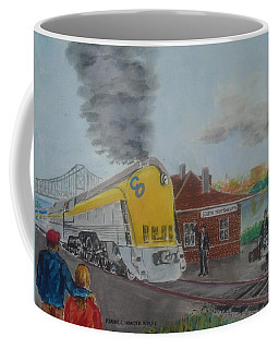 The Chesapeake And Ohio George Washington At South Portsmouth Station Coffee Mug by Frank Hunter
