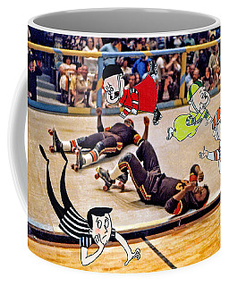 The Chipmunks Skating Roller Derby Coffee Mug