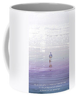Coffee Mug featuring the photograph The Chosen One by Holly Kempe