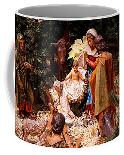 The Christmas Creche At Holy Name Cathedral - Chicago Coffee Mug