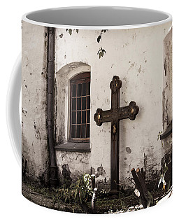 The Church Courtyard Coffee Mug