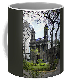 The Church Green Coffee Mug by Lynn Palmer
