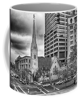 Coffee Mug featuring the photograph The Church by Howard Salmon