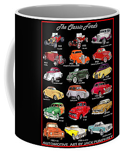 The Ford Shower Curtain Coffee Mug