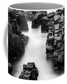 Coffee Mug featuring the photograph The Cliffs by Gunnar Orn Arnason
