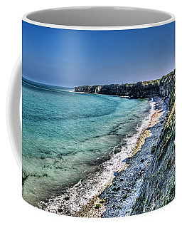 The Cliffs Of Pointe Du Hoc Coffee Mug