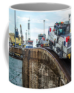 The Climbing Mule Of The Panama Canal Coffee Mug