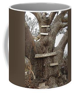The Climbing Tree - Hurricane Katrina Survivor Coffee Mug