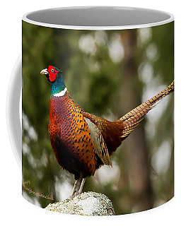The Cock On Top Of The Rock Coffee Mug