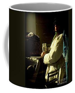 The Coffee Drinker Coffee Mug by Miriam Danar