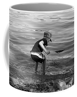 Coffee Mug featuring the photograph  The Collector by Debbie Oppermann