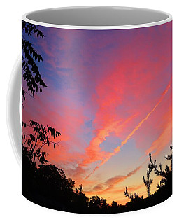 Coffee Mug featuring the photograph The Color Gets Good by Kathryn Meyer