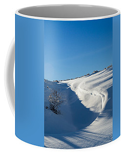 Coffee Mug featuring the photograph The Colors Of Snow by Michael Chatt