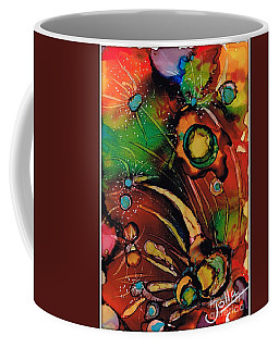 The Colours Of My Mind.. Coffee Mug by Jolanta Anna Karolska