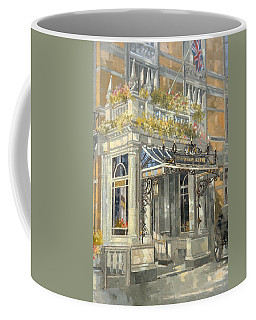 The Connaught Hotel, London Oil On Canvas Coffee Mug