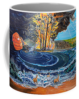 The Consequences Of The Beginning Coffee Mug by Lazaro Hurtado