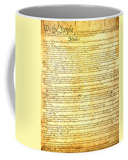 The Constitution Of The United States Of America Coffee Mug