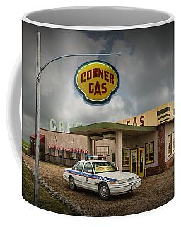 The Corner Gas Station From The Canadian Tv Sitcom Coffee Mug
