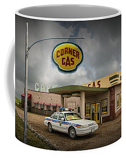 The Corner Gas Station From The Canadian Tv Sitcom Coffee Mug