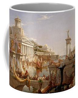 The Course Of Empire Consummation  Coffee Mug