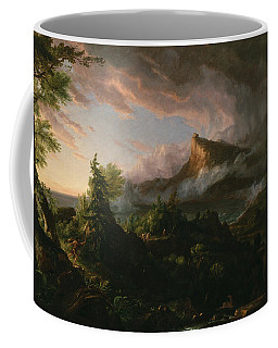 The Course Of Empire The Savage State  Coffee Mug