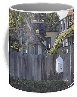 Coffee Mug featuring the photograph The Courtyard  by Laurie Lundquist