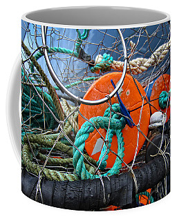 Crab Ring Coffee Mug