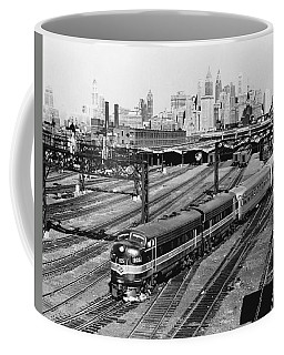 The Crusader Streamliner Train Coffee Mug