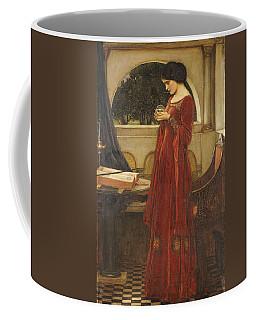 The Crystal Ball, 1902 Oil On Canvas Coffee Mug
