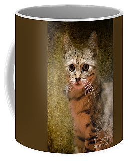 The Cutest Kitty Coffee Mug by Klara Acel