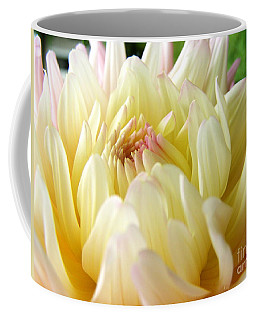 Coffee Mug featuring the photograph Yellow Dahlia by Margie Amberge