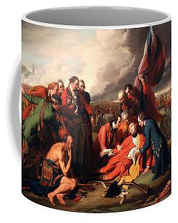 The Death Of General Wolfe Coffee Mug by Benjamin West