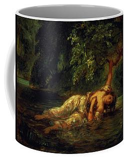 The Death Of Ophelia, 1844 Coffee Mug