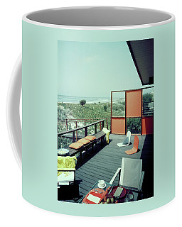 The Deck Of A Beach House Coffee Mug