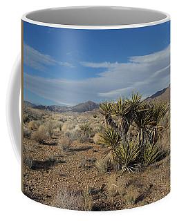 The Desert In Winter Coffee Mug
