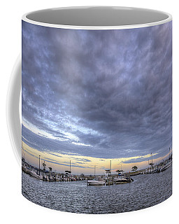 The Docks At Bay Shore Coffee Mug