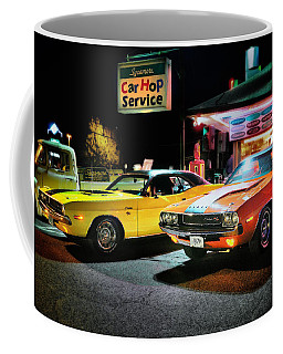 The Dodge Boys - Cruise Night At The Sycamore Coffee Mug