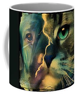 The Dog Connection -green Coffee Mug