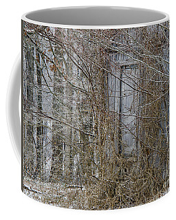 Coffee Mug featuring the photograph The Door To The Past by Wilma  Birdwell