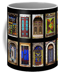 The Doors Of Yemen Coffee Mug