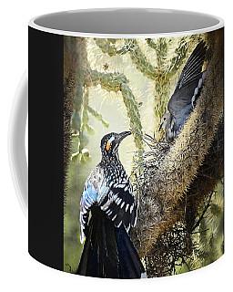 The Dove Vs. The Roadrunner Coffee Mug
