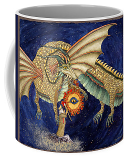 The Dragon King Coffee Mug by Lynda Hoffman-Snodgrass